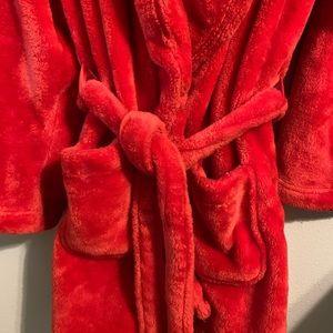 Victoria's Secret plush robe